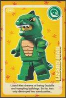 Lego Trading Card - Create The World - 040 Lizard Man - Trading Cards