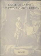 Dinant. Carte De Cabinet Des Pays-Bas Autrichiens. Ferraris. Pro Civitate. 1965 Yvoir Bouvignes Weillen Sosoye Onhaye - Cartes