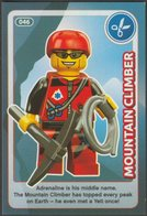 Lego Trading Card - Create The World - 046 Mountain Climber - Trading Cards