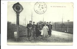 Thème DOUANE - DOUANIERS - VOSGES 1913 (beau Plan) - Douane