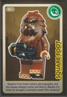 Lego Trading Card - Create The World - 051 Square Foot - Trading Cards