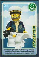 Lego Trading Card - Create The World - 054 Sea Captain - Trading Cards