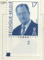 PIA - BEL - 1996 : Serie Corrente : Re Alberto II° - (Yv 2680) - Belgique