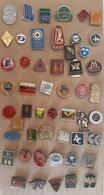 Croatia Bosnia Yugoslavia Slovenia 50 Different Pins  LOT 13 - Badges