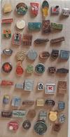 Croatia Bosnia Yugoslavia Slovenia 50 Different Pins  LOT 14 - Badges