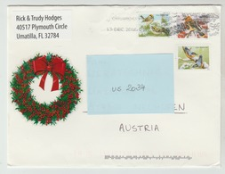 13 DEC 2016 -  USA/Florida  -  Brief / Bedarfsbeleg    - O Gestempelt - Siehe Scan (us 2034) - Briefe U. Dokumente