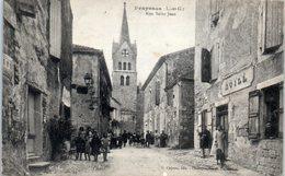 47 - PRAYSSAS -- Rue St Jean - France