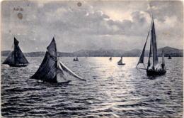 Adria * Poststempel Fiume 22. 2. 1908 - Croatie