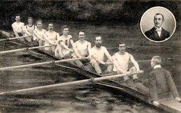 Gand - 1909 - Royal Club Nautique & Royal Sport Nautique - Les Vainqueurs De Henley - Gent