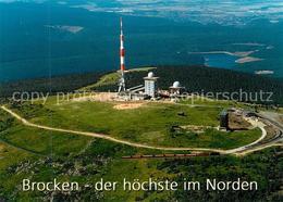 73323004 Brocken_Harz Fliegeraufnahme Fernmeldeturm Brocken Harz - Wernigerode
