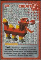 Lego Trading Card - Create The World - 055 Dragon - Trading Cards