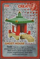 Lego Trading Card - Create The World - 057 Ghost House - Trading Cards