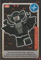 Lego Trading Card - Create The World - 058 Vampire Bat - Trading Cards