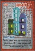 Lego Trading Card - Create The World - 061 Skyline - Trading Cards