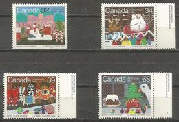 Canada - 1985 Christmas MNH **   SG 1181-4 - 1952-.... Reign Of Elizabeth II
