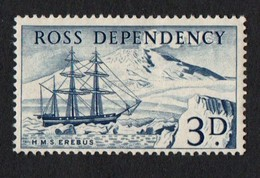 Ross Dependencies. 1957 Scott Of The Antarctic, Local Motives. 3p. MNH - Ross Dependency (New Zealand)