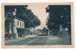 CPSM - GOULT-LUMIERE (Vaucluse) - La Gare - France