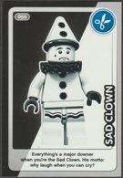 Lego Trading Card - Create The World - 066 Sad Clown - Trading Cards