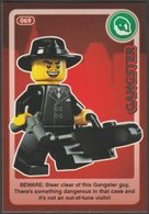 Lego Trading Card - Create The World - 069 Gangster - Trading Cards