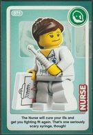 Lego Trading Card - Create The World - 071 Nurse - Trading Cards
