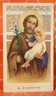S. Giuseppe SANTINO Ed.G.Mi Isonzo 32 Con Orazione - Images Religieuses
