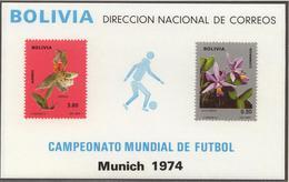 Football / Soccer / Fussball - WM 1974:  Bolivien  Bl ** - Coppa Del Mondo