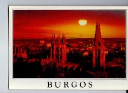 U4017 Postcard BURGOS, PESTA DE SOL _ TRAMONTO SUNSET COUCHER _ B27 Ed Murillo / Mundigrafis S.L. - Burgos