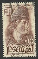Portugal, 10 C. 1945, Sc # 642, Mi # 673, Used. - Used Stamps