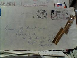 LETTER GIAMAICA JAMAICA , EMA + VIGNETTA   1964 GY6019 - Giamaica (1962-...)