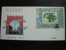 Foglietto Su F.D.C. Del 1996 (souvenir Sheet FDC) - 1949 - ... Repubblica Popolare