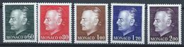 Monaco YT 992-996 XX / MNH Famille Royale Princière - Mónaco