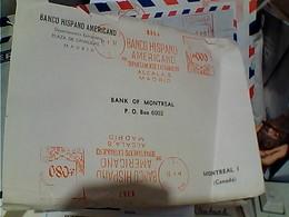 LETTER EMA ESPANA BANK BANCO HISPANO AMERICANO   1957 GY6023 - 1931-Oggi: 2. Rep. - ... Juan Carlos I
