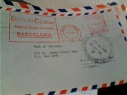 LETTER EMA ESPANA EDIFICIO CONDAL BARCELONA    1958 GY6024 - 1931-Oggi: 2. Rep. - ... Juan Carlos I