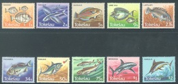 TOKELAU - MNH/** - 1984  - FISHES - Yv 108-117 -  Lot 18372 - Tokelau