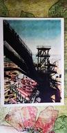 Kazakhstan, Magnitka Plant -  Old USSR Postcard.  1963 RARE! - Kazakhstan