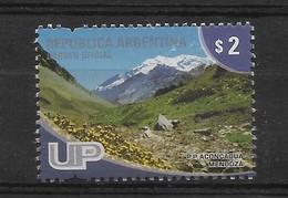 ARGENTINA 2008, MOUNT ACONCAGUA IN MENDOZA, MOUNTAINS, LANDSCAPES, UP 1 VALUE - Neufs