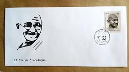 BRAZIL FDC GANDHI Stamps India Mahatma Gandhiji 2018 - Brasil