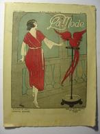 LA MODE N°10 Du 7 MARS 1920 - Revue De Mode VETEMENTS ET BRODERIE - Illustrations SIM Perroquet - Publicités D'époque - 1900 - 1949