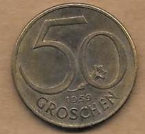 50 Grochen 1959 - Autriche