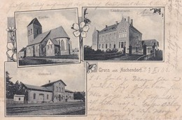 Aschenhof Bahnhof 1903 - Suhl