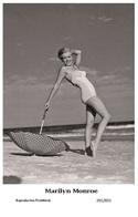MARILYN MONROE - Film Star Pin Up PHOTO POSTCARD - 201-831 Swiftsure Postcard - Artistes