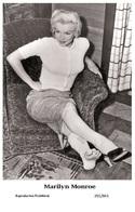 MARILYN MONROE - Film Star Pin Up PHOTO POSTCARD - 201-841 Swiftsure Postcard - Artistes