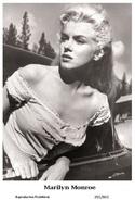 MARILYN MONROE - Film Star Pin Up PHOTO POSTCARD - 201-842 Swiftsure Postcard - Artistes