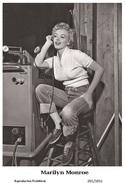 MARILYN MONROE - Film Star Pin Up PHOTO POSTCARD - 201-1051 Swiftsure Postcard - Artistes