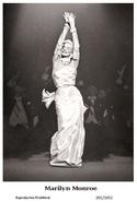 MARILYN MONROE - Film Star Pin Up PHOTO POSTCARD - 201-1052 Swiftsure Postcard - Artistes