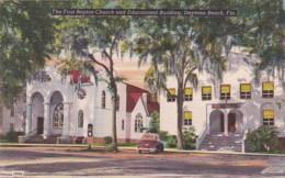 Florida Daytona Beach First Baptist Church And Educational Building - Daytona