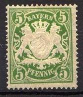 Bayern 1890 Mi 61 Y * [011218IX] - Beieren