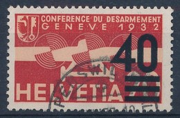 "HELVETIA - Mi Nr 310 - Gest./obl. ""RAPPERSWIL"" - Cote 22,00 € - Airmail"