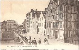 Dépt 77 - MEAUX - Le Pont Du Marché - LL N° 28 - Meaux