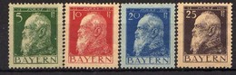 Bayern 1911 Mi 77-80 I (*) [011218IX] - Bavaria